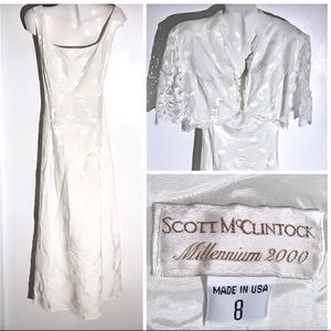 EUC Wedding Dress McClintock Off White